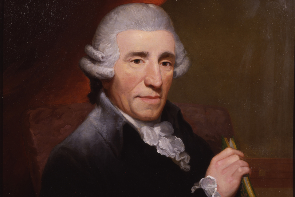 Thomas Hardy portrait of Joseph Haydn